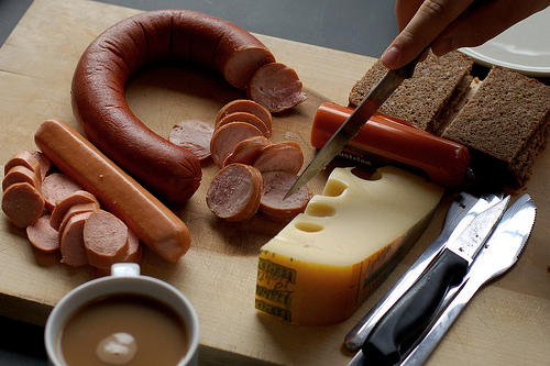 german saussage breakfast